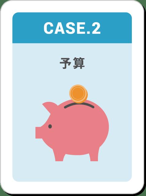 CASE2,予算